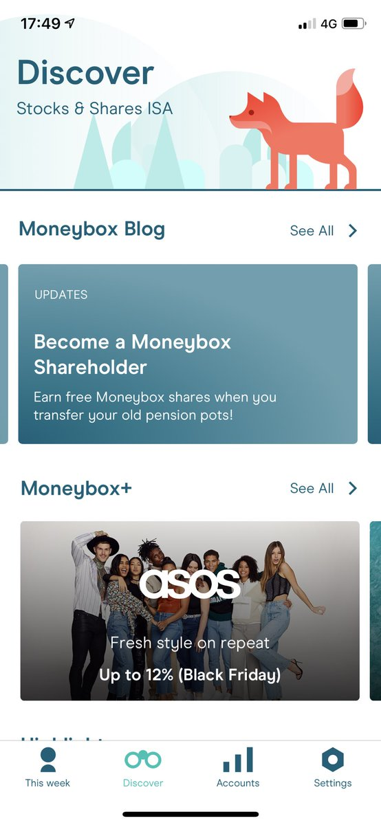 @moneyboxteam Definitely will and thank you for providing such an easy to use and fun app! 👌🏻🙌 and loving the new look 👍🏻