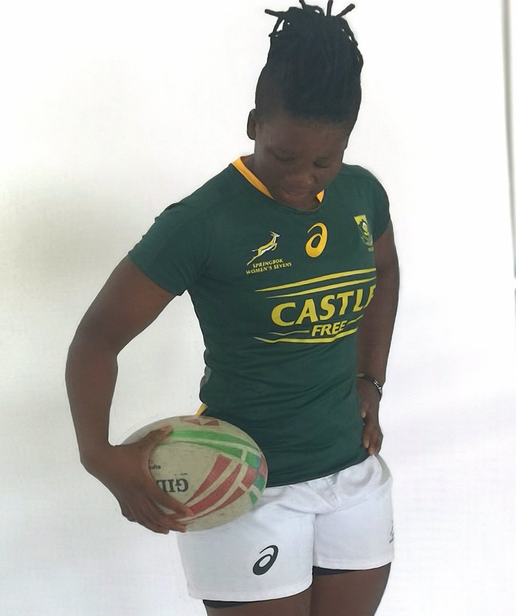 This is so real. The printed logo on the match ball says HSBC World Series. Only 13 days. When dreams come true at the @CapeTown7s for the #Imbokodo. Please come and #shareTHATmoment. @pauldelport9 @zintlempupha @CastleFreeSA