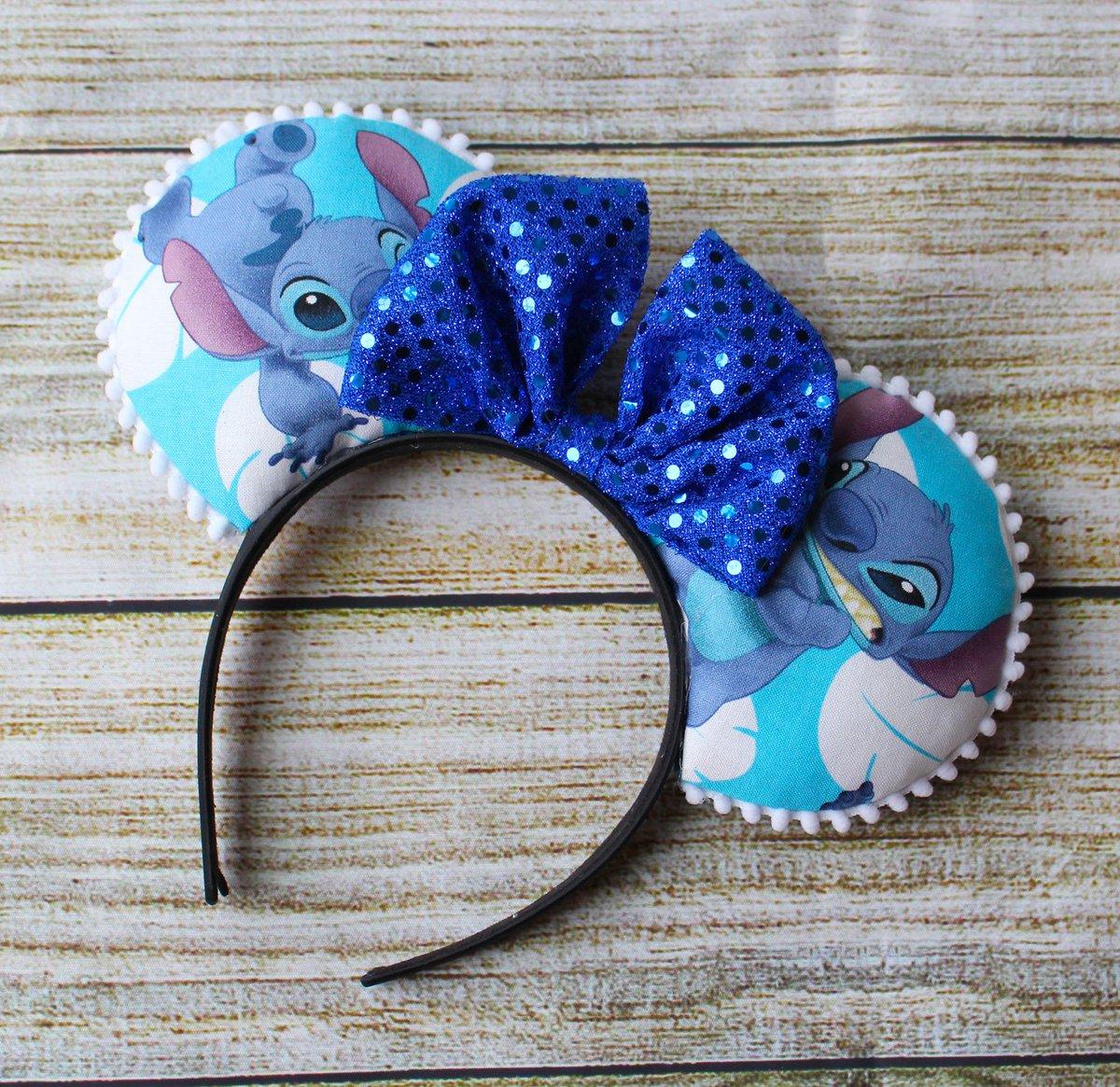 Stitch Ears,Stitch Minnie Ears,Mickey Stitch headband,Minnie Mouse Ears,Mickey Ears,Custom Ears,Stitch Headband,Stitch Headband  #disneyears #toystoryforkyears