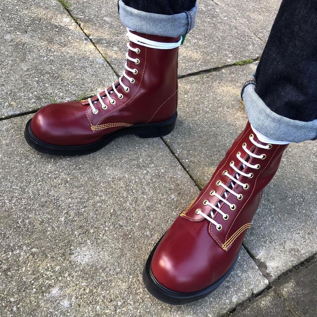 Eye Steel Toe Derby Boot