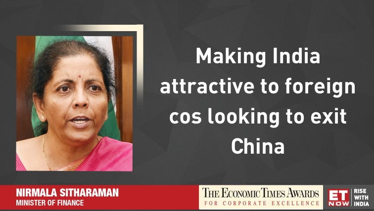 @nsitharaman @FinMinIndia @BJP4India @RBI #ETNOWExclusive | Invite #industry to feel free & convey feedback to the Govt, says #FinanceMinister @nsitharaman at #ETAwards 2019. @FinMinIndia @BJP4India