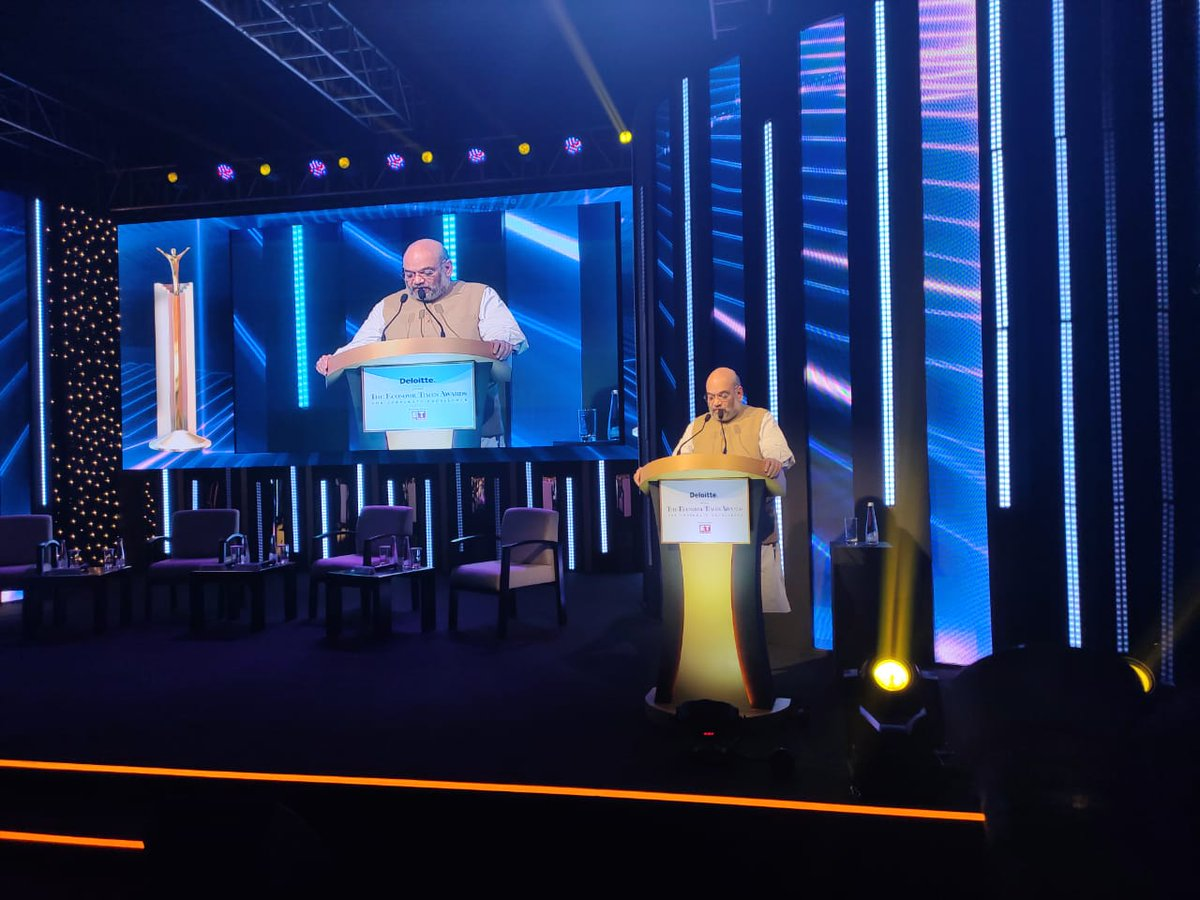 @AmitShah Home minister @AmitShah: I have faith, and the citizens believe and I want you too to believe that we will emerge as a $ 5 trillion economy. #ETAwards Track #latest updates here bit.ly/33vt07H Watch #LIVE here bit.ly/2rBcq9d
