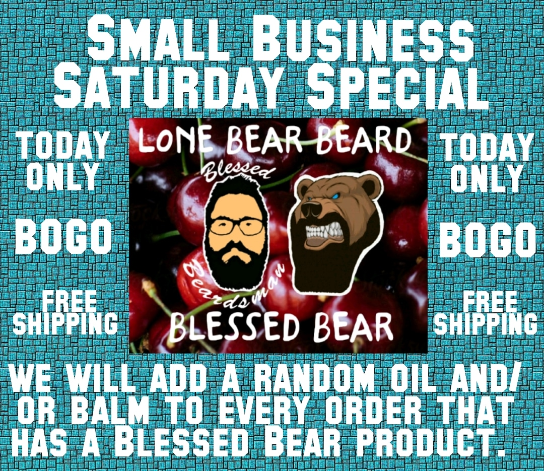 #SmallBiz #SmallBusiness #SmallBusinessSaturday #Beard #Beardos #NoShaveEver #BeAMan #WomenLoveIt #beardoil #beardbalm #beardcare #beardcareproducts #sale #SaturdaySpecialpic.twitter.com/hwb5F8pd0U