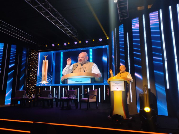 @AmitShah About 60% of #India's economy is sitting at #ETAwards so let's take the country to $5 trillion #GDP, says @AmitShah Track #latest updates here bit.ly/33vt07H Watch #LIVE here bit.ly/2rBcq9d