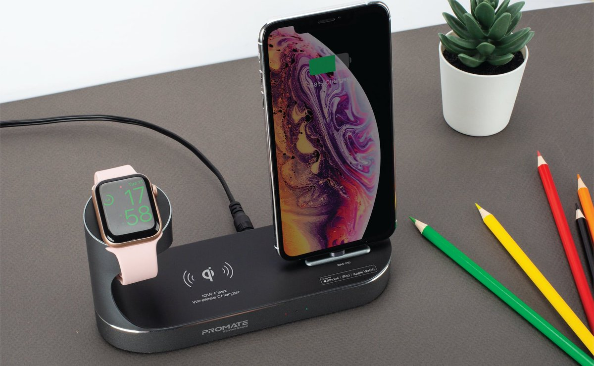 ICYMI: @Promate PowerState All-in-One Dock https://t.co/pwuI0HtT6F Thanks to its integrated over-voltage and over-current protection, this charger keeps you and your devices safe. #everydaycarry #blackfridaydeals (Use the Coupon code PowerState50 and get $50 OFF) https://t.co/hj7xvPWFCu