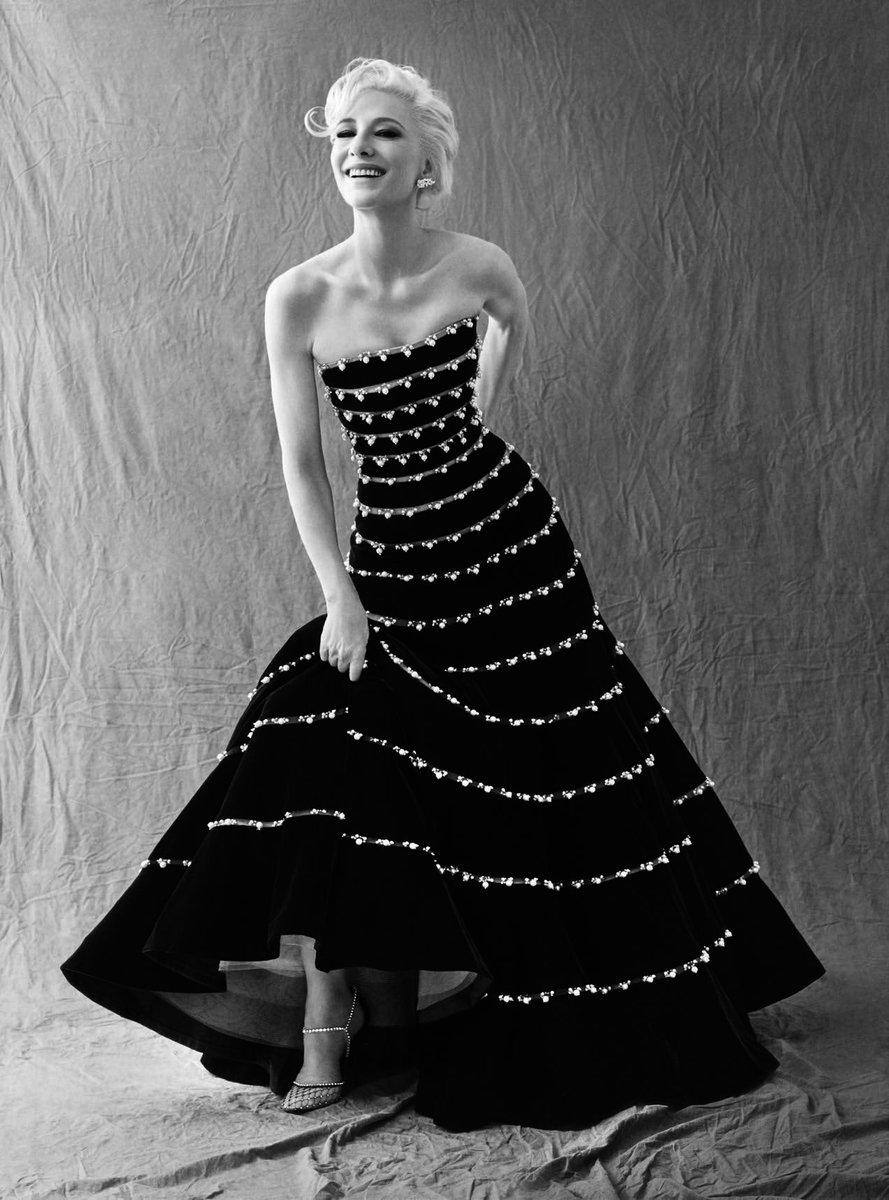 #CateBlanchett, one of @BazaarUK Women of the Year 2019 wearing looks from #GiorgioArmaniPrivé Credits: @tommunrostudio https://t.co/fiSMzgjqIP