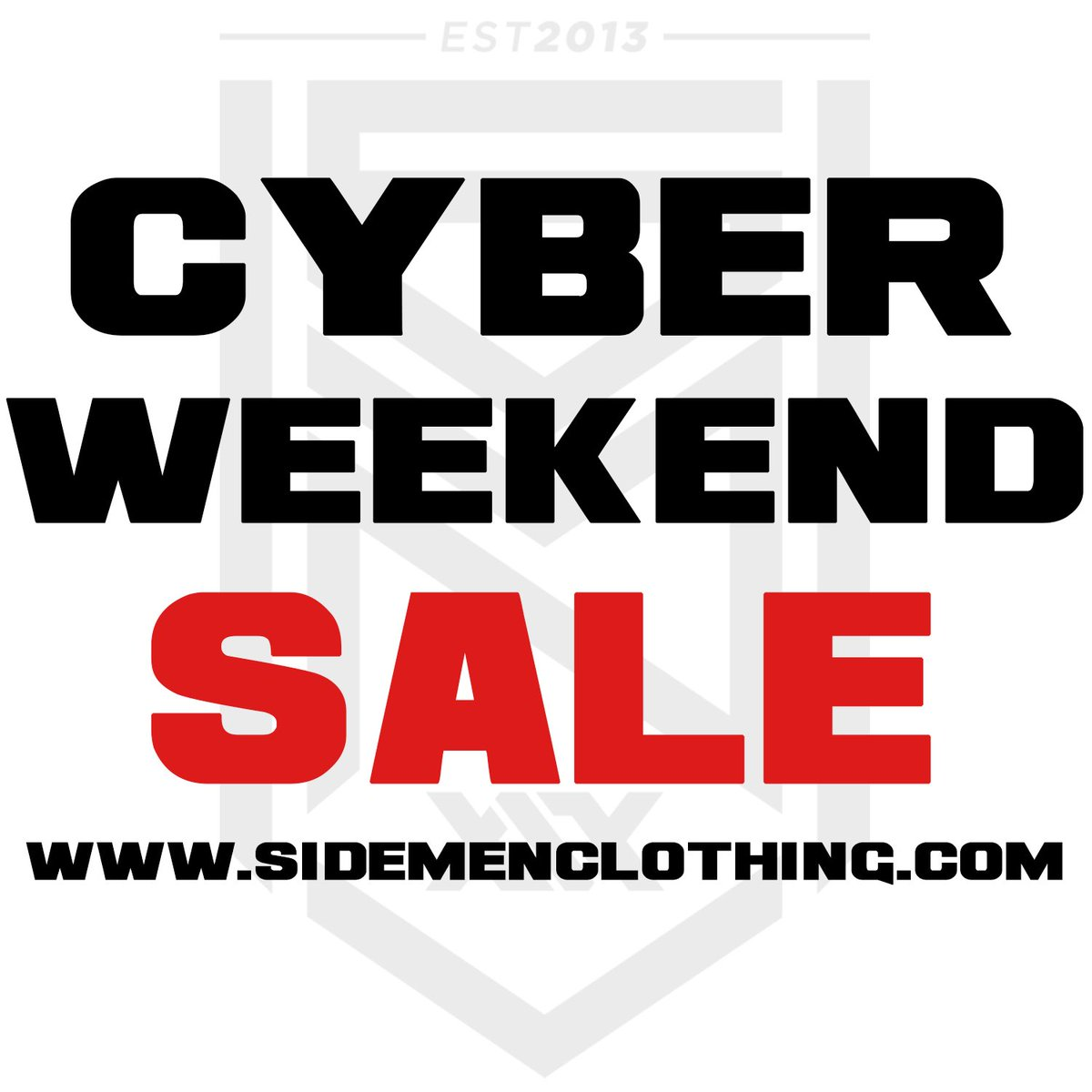 We've dropped prices on a load of items for Cyber Weekend!!!Come and check out what we've got in our sale...https://www.sidemenclothing.com/collections/sales…