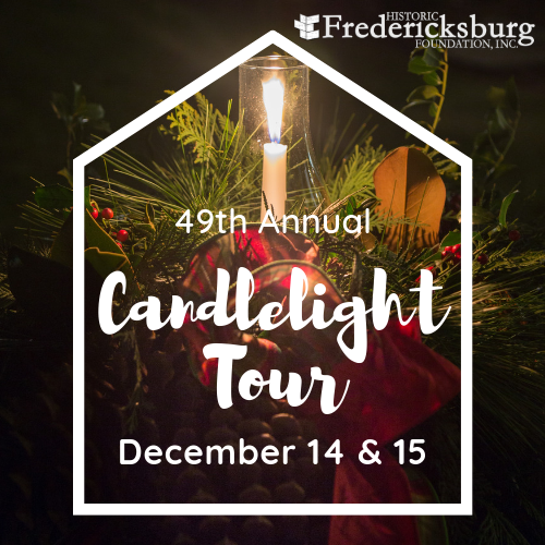 Candlelight Tour is December 14 & 15 in Fredericksburg, VA. Enjoy docent led tours of historic homes professionally decorated for the holidays. Visit  http:// hffi.org     for details.  #history #historicplaces #candlelighttour #fredericksburgva #LoveFXBG #preservation<br>http://pic.twitter.com/NoJoFJtXHH