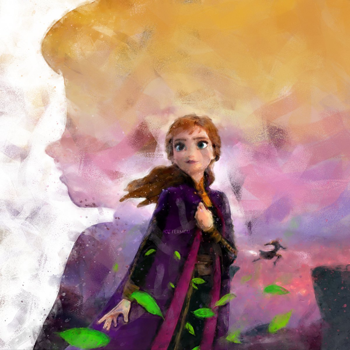 a bridge has two sides... and mother had two daughters  #Frozen2  #frozen2spoilers <br>http://pic.twitter.com/rAMW0OlpsA