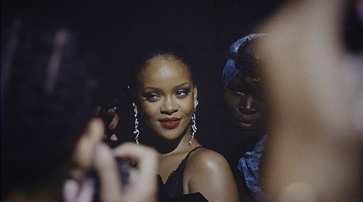 """(/: Raja Virdi)  """"Backstage frames and a short clip from when I shot for #SAVAGEXFENTYSHOW. Looking forward to seeing all the new content that I've been working on with Rih get released. Big love to my friends at @fentycorp for bringing me into such a great team."""" • via IG<br>http://pic.twitter.com/UWVdBxnZir"""