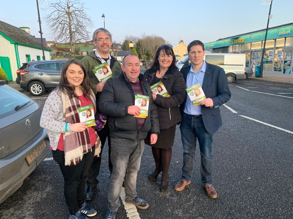 Good to show @gildernewm the highlights of #Belleek yesterday!    #GE19 #FightingForFST #Gildernew #RejectBrexit <br>http://pic.twitter.com/fHMPVmCQ5n