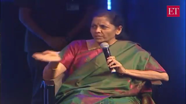 Expect better Q3 GDP numbers: FM Sitharaman at #ETAwards 2019 | bit.ly/33BDYbw