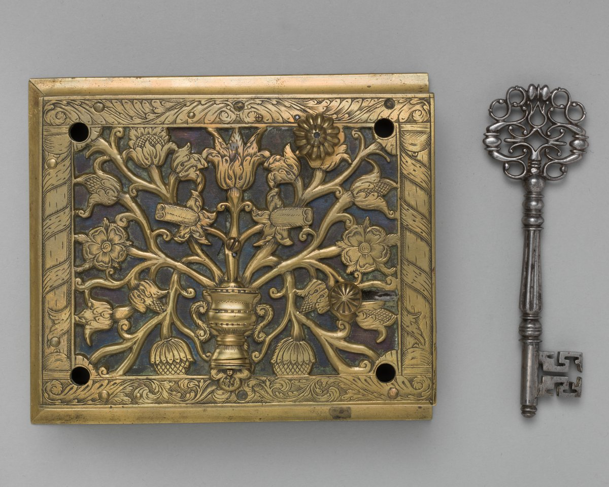 For #StuartsSaturday, please share something beautiful to help soothe our souls after such ugliness.  Lock, #17thcentury, Attributed to John Wilkes, Harris Brisbane Dick Fund, 1957, Metropolitan Museum of Art. #KeepItStuart<br>http://pic.twitter.com/UIm0lAaNSb