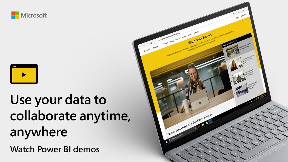 Get what you need from your data and take action. Visualize, share, and collaborate faster than ever before with Microsoft #PowerBI: http://msft.it/6012TpsPs