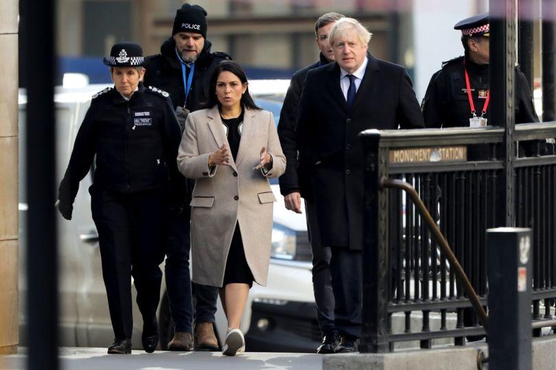 Priti Patel accused of lying after blaming release of London Bridge terrorist on Labour mirror.co.uk/news/politics/…