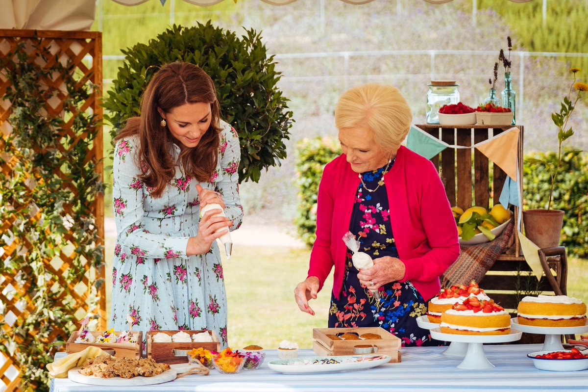 On #ABerryRoyalChristmas Mary Berry joins The Duchess of Cambridge behind the scenes at @RHSWisley to learn more about The Duchess's commitment to the early years in raising the next generation of happy, healthy children.