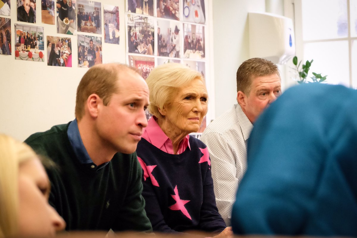 The Duke of Cambridge and Mary Berry visit @PassageCharity to meet some of the 130,000 people helped by the charity's resource centre, homelessness prevention projects and two innovative accommodation services. #ABerryRoyalChristmas