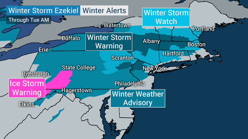 The Weather Channel On Twitter Winter Alerts Are Still In Affect For The North Until Tomorrow And Will Last In The Northeast Until Tuesday Morning Exercise Caution Https T Co Rhkh0nuznd
