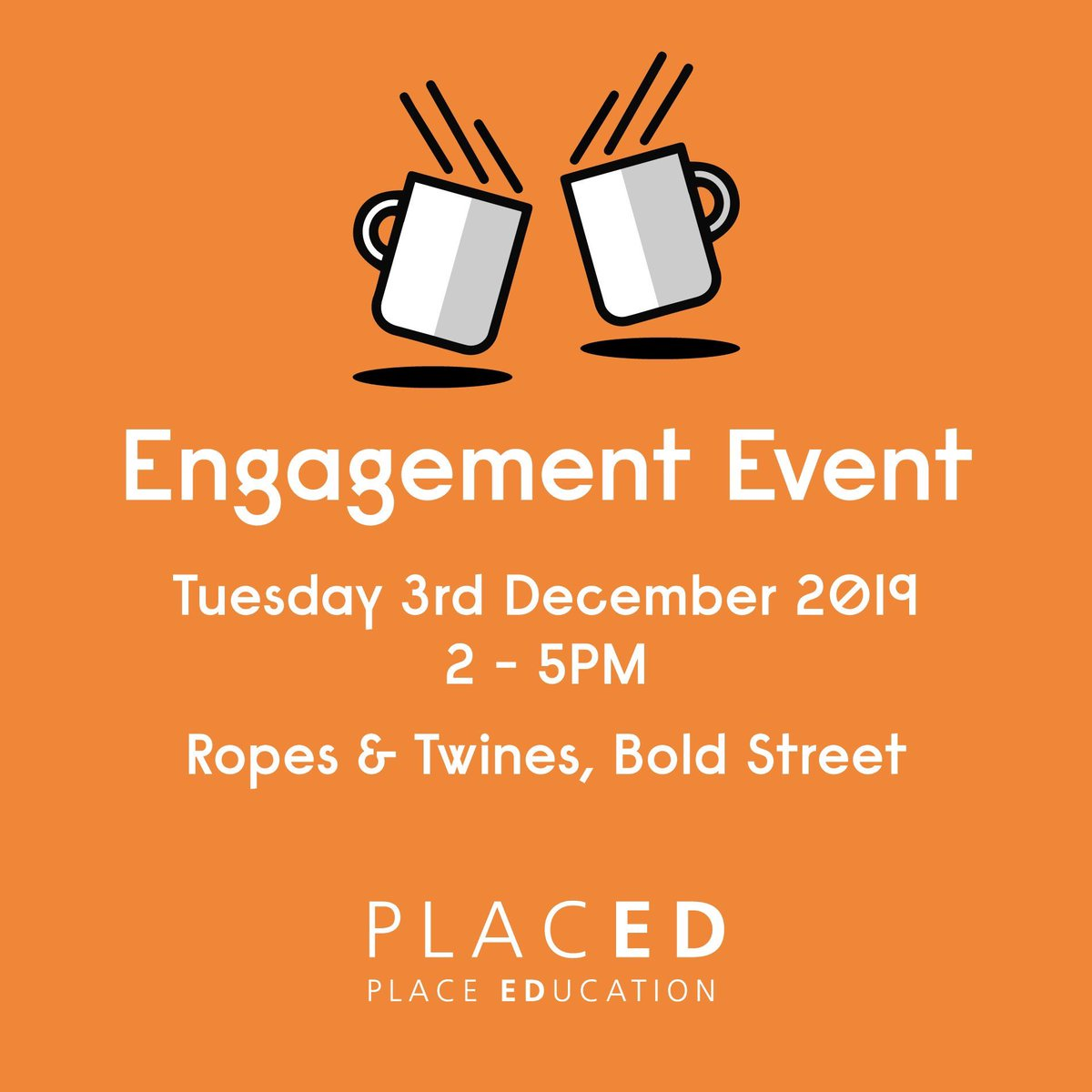 TUESDAY! Join us, ahead of our networking event, to share your views on the SDS for your area. All info collected on the day will be directly fed back to @LpoolCityRegion & will help shape the final SDS. So come in! The team will grab you a coffee & gather your views! #PLACEDpro