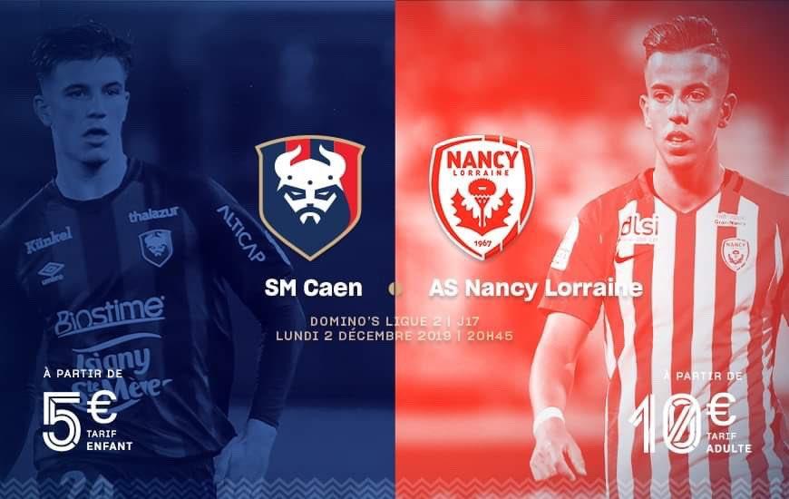[17e journée de L2] SM Caen - AS Nancy Lorraine EKpRIiDWwAAePLX