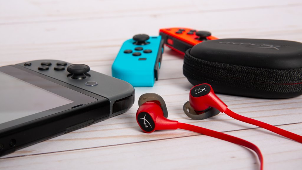 99 problems but a Switch aint one. Check out Cloud Earbuds for Switch: hyperx.gg/earbuds