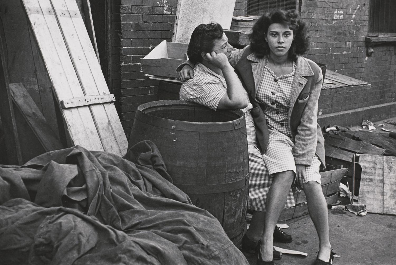 Нью-Йорк, 1942. Фотограф Элен Левитт