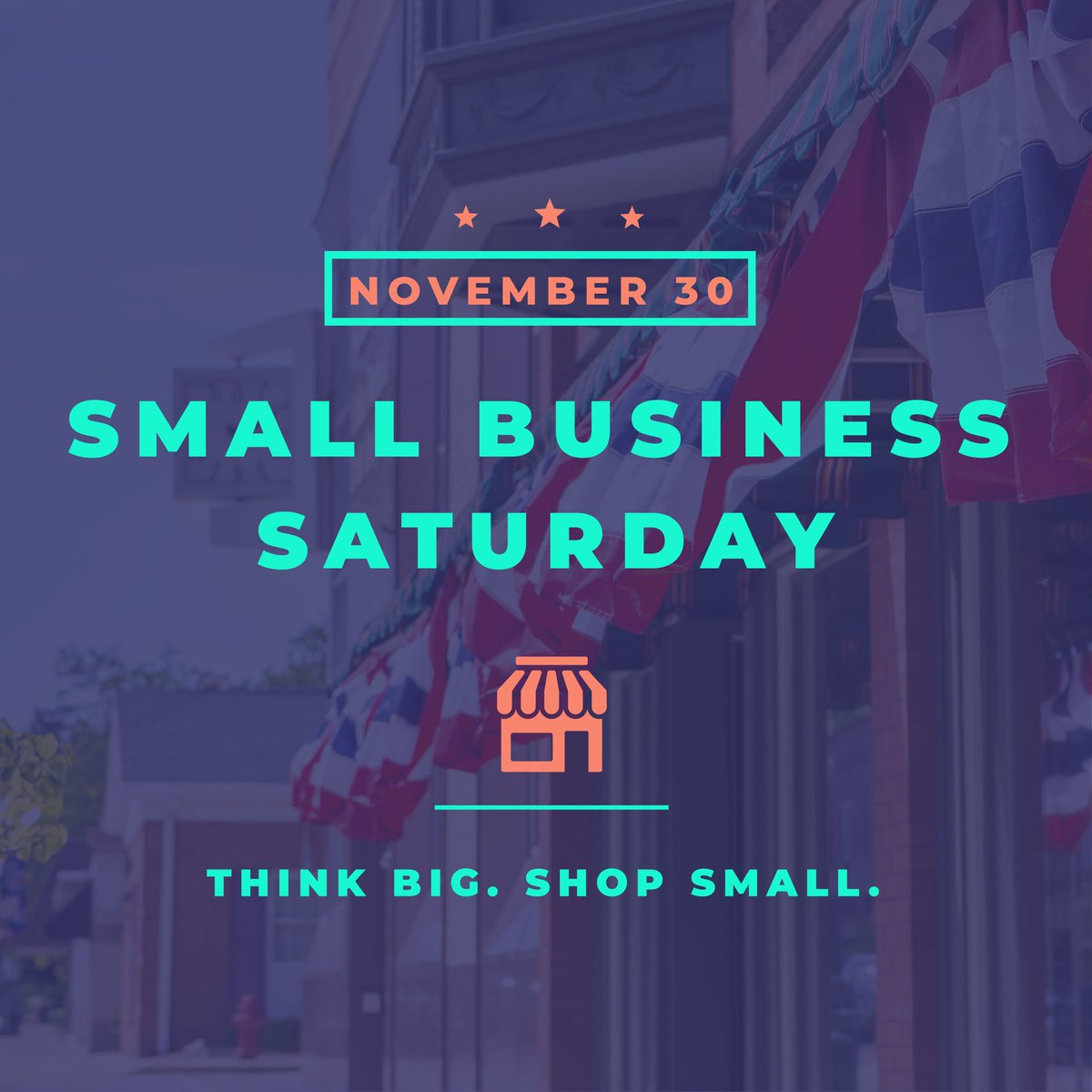 Be sure to support your local small businesses when shopping great deals on this #SmallBusinessSaturday!