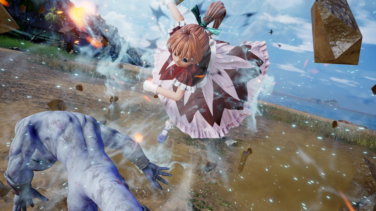 Most underrated character in #JumpForce? My pick goes to Bisky, nobody asked for her but Spike Chunsoft did an amazing job with her!