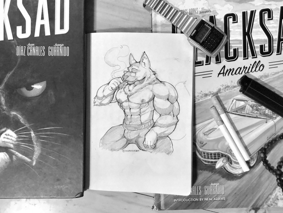 @dextroburger asked me to draw Smirnov to celebrate @pendulostudios #blacksad #undertheskin   Here is my attempt <br>http://pic.twitter.com/dl5j6m7y4N