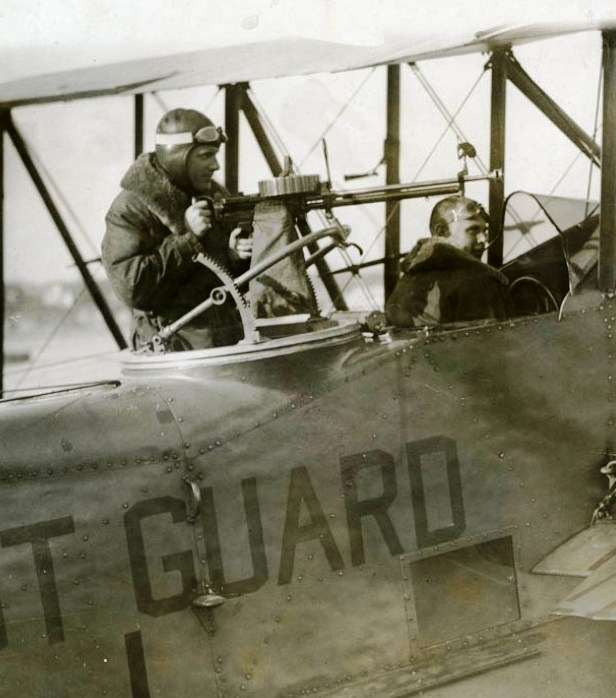 In 1925 using borrowed @USNavy aircraft, the #USCG showed the value of air assets through the 1st aerial law enforcement assist and the 1st aviation interdiction. Congress later appropriated money to buy 5 CG aircraft. The rest is #AviationHistory. READ: ow.ly/q1hu50xgXEC
