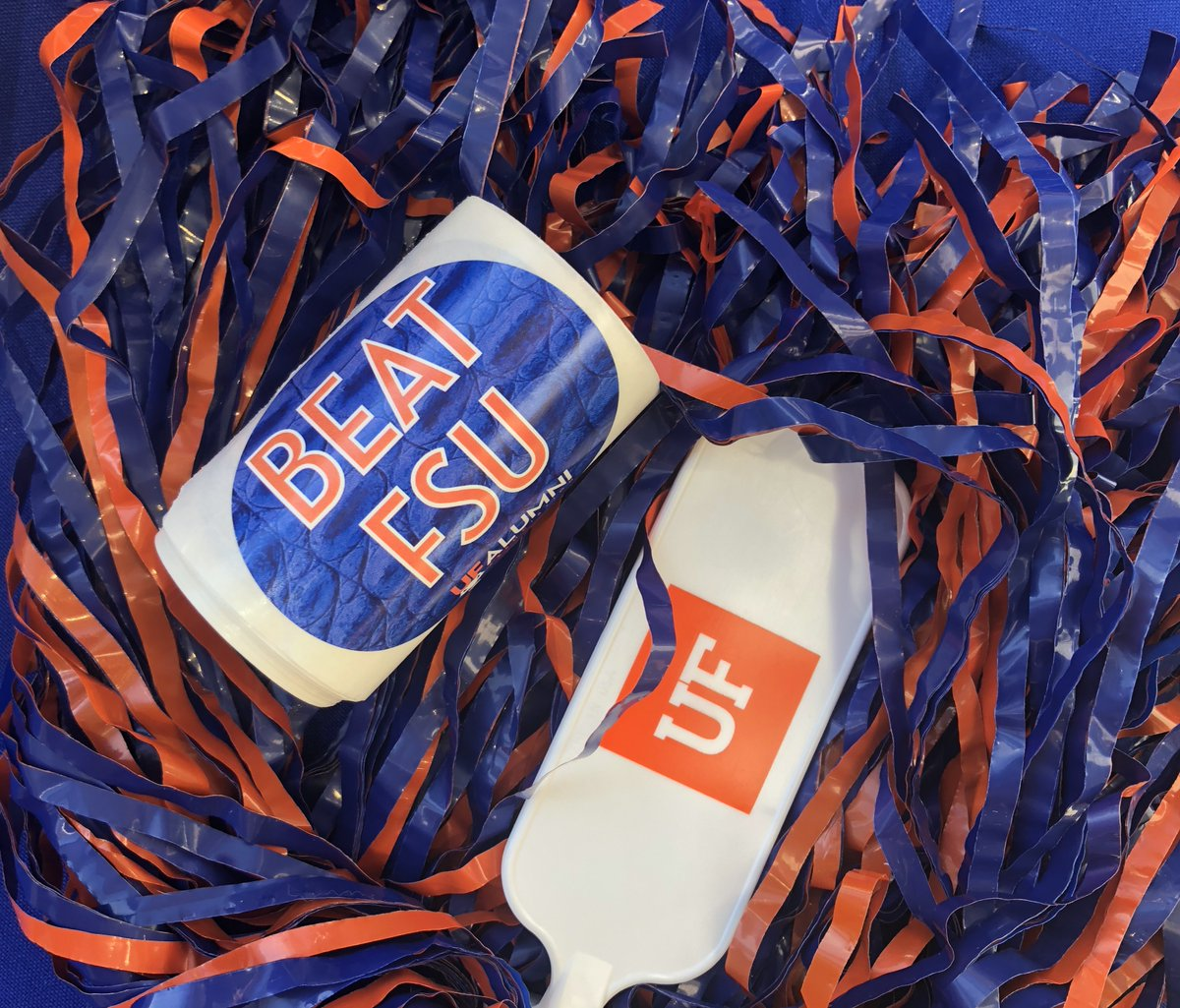 We've got #BEATFSU stickers at Emerson Alumni Hall, get 'em before they're gone! 🐊🏈  #GoGators #GNTatEAH