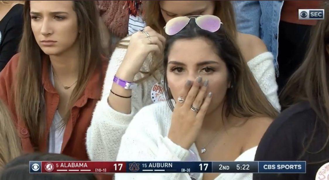 SEC vs B1G crowd shots. Same sport