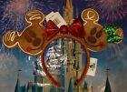 NEW 2019 Disney Park Christmas Holiday Gingerbread Ears Headband Mickey Minnie Retweet $20.00 #disneyears #disneyholiday #christmasheadband