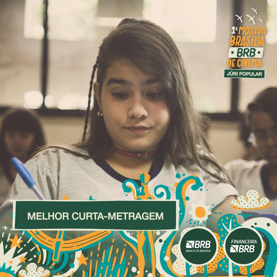 #PremiaçãoFBCB | MOSTRA BRASÍLIA BRB DE CINEMA  O prêmio de MELHOR CURTA-METRAGEM, escolhido por Júri Popular, da Mostra Brasília BRB vai para: ESCOLA SEM SENTIDO  #FestivalDeCinema #Brasília #52FBCB #FBCB #Brasil #Cinema #Arte #BRB