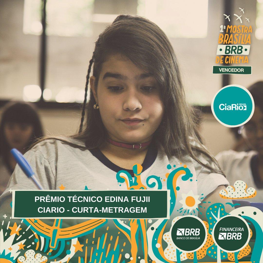 #PremiaçãoFBCB | MOSTRA BRASÍLIA BRB DE CINEMA  O prêmio de MELHOR CURTA-METRAGEM, segundo o  Júri Oficial, da Mostra Brasília BRB vai para: ESCOLA SEM SENTIDO  #FestivalDeCinema #Brasília #52FBCB #FBCB #Brasil #Cinema #Arte #BRB