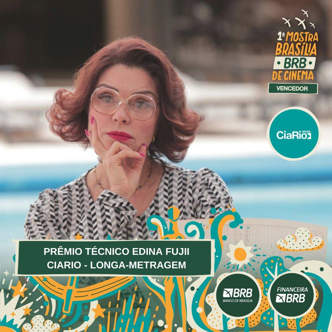 #PremiaçãoFBCB | MOSTRA BRASÍLIA BRB DE CINEMA  O prêmio de MELHOR LONGA-METRAGEM, escolhido por Júri Oficial, da Mostra Brasília BRB vai para: DULCINA  #FestivalDeCinema #Brasília #52FBCB #FBCB #Brasil #Cinema #Arte #BRB