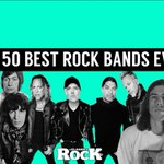 Image for the Tweet beginning: The 50 Best Rock Bands