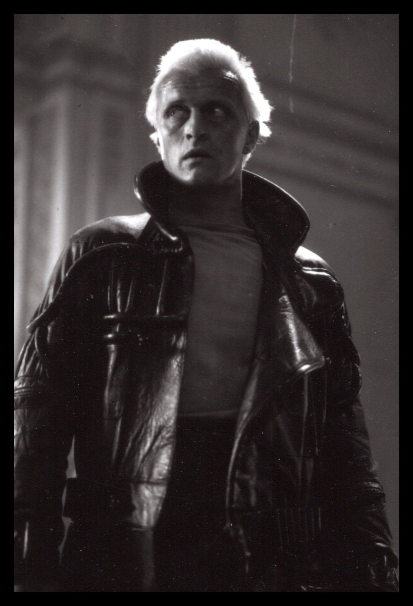 I'm up for two more rounds of #November2019 #PreciousPhotos.  Within the last year, the #BladeRunner family lost two beloved members: one in front of the lens, and one behind. Actor Rutger Hauer and still photographer Stephen Vaughan.  This entry is a tribute to both.pic.twitter.com/lrHolOF6GH