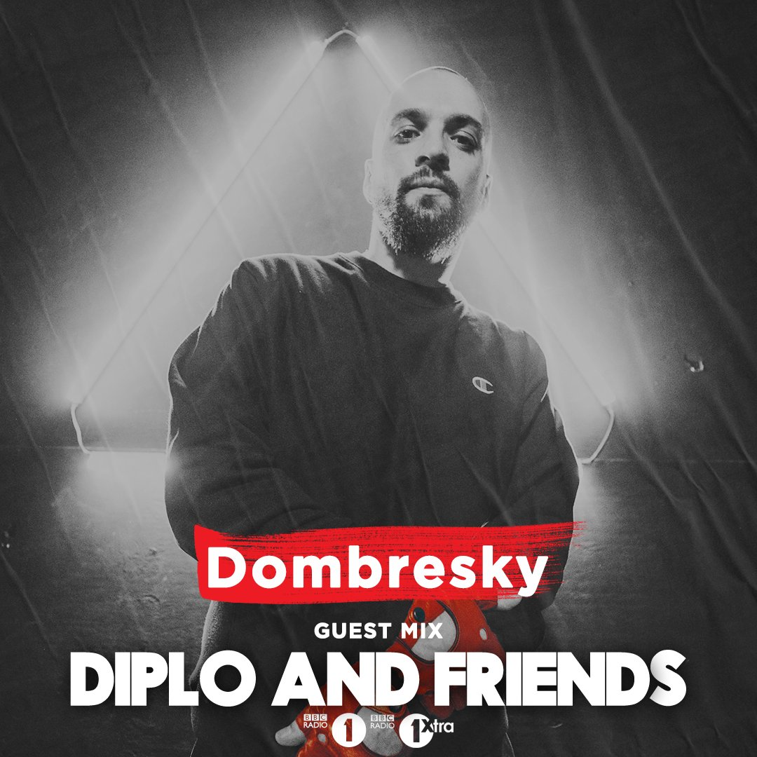 👉 We continue with rising French dj/producer @Dombresky who brings plenty of Dancefloor Bangers in the mix for @Diplo and Friends!  🔊 https://t.co/WJugEor5qR  Stayed tuned for... @snkysndsystm @carlolio @DJSteveLawler  @SNAKECHILD @propervillainy and plenty more 🙌 https://t.co/5WsF9DM31y