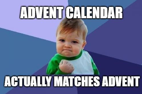 Happy #Advent !
