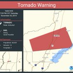 Image for the Tweet beginning: Tornado Warning including Canton MS