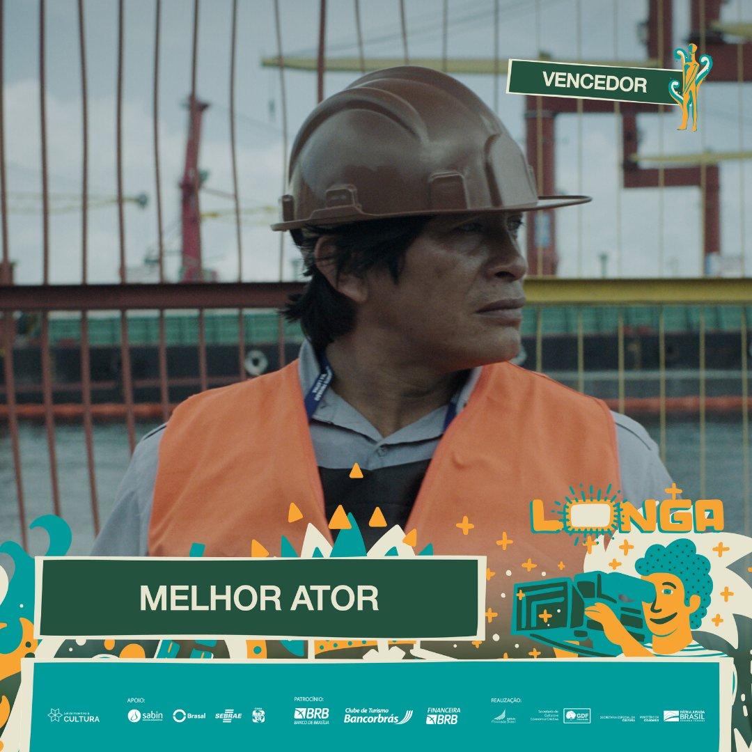 #PremiaçãoFBCB | MOSTRA COMPETITIVA  O prêmio de MELHOR ATOR, na categoria de Longa-Metragem da Mostra Brasília BRB, é: REGIS MYRUPU - A FEBRE  #FestivalDeCinema #Brasília #52FBCB #FBCB #Brasil #Cinema #Arte #BRB