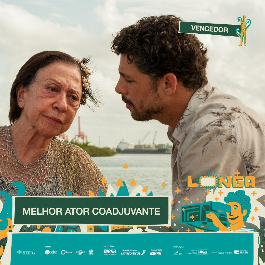 #PremiaçãoFBCB | MOSTRA COMPETITIVA  Na categoria de Longa-Metragem, o vencedor do #TroféuCandango de MELHOR ATOR COADJUVANTE é: CAUÃ REYMOND - PIEDADE  #FestivalDeCinema #Brasília #52FBCB #FBCB #Brasil #Cinema #Arte