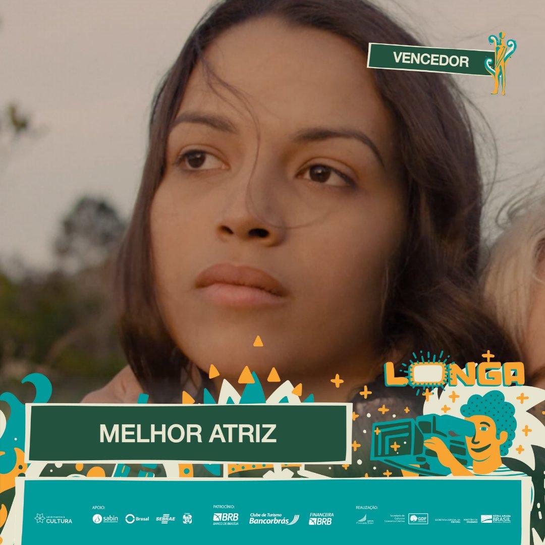 #PremiaçãoFBCB | MOSTRA COMPETITIVA  O vencedor do #TroféuCandango de MELHOR ATRIZ na categoria de Longa-Metragem é: ANNE CELESTINO - ALICE JÚNIOR  #FestivalDeCinema #Brasília #52FBCB #FBCB #Brasil #Cinema #Arte