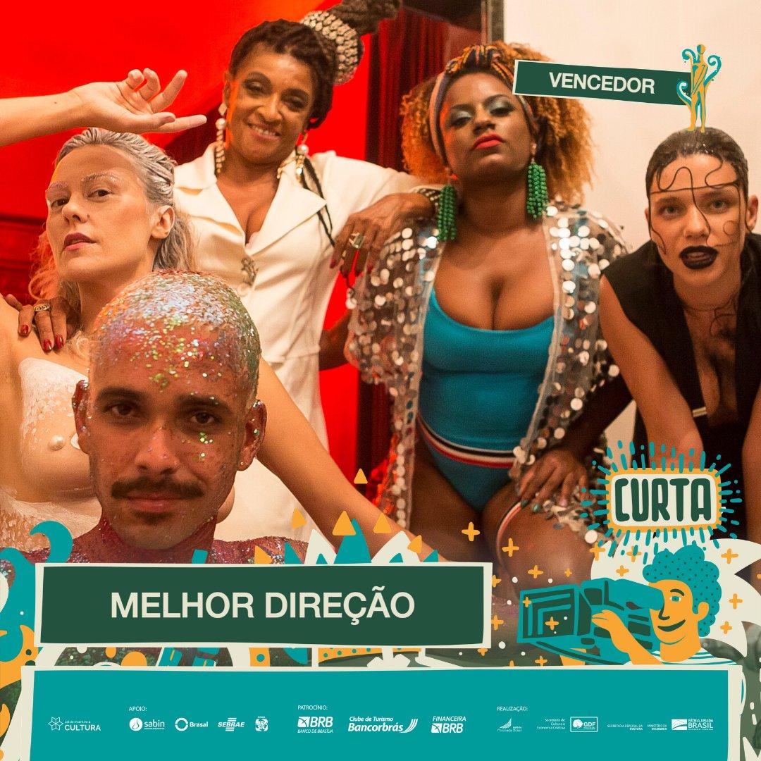 #PremiaçãoFBCB | MOSTRA COMPETITIVA  O vencedor do #TroféuCandango de MELHOR DIREÇÃO na categoria de Curta-Metragem é: SABRINA FIDALGO - ALFAZEMA  #FestivalDeCinema #Brasília #52FBCB #FBCB #Brasil #Cinema #Arte