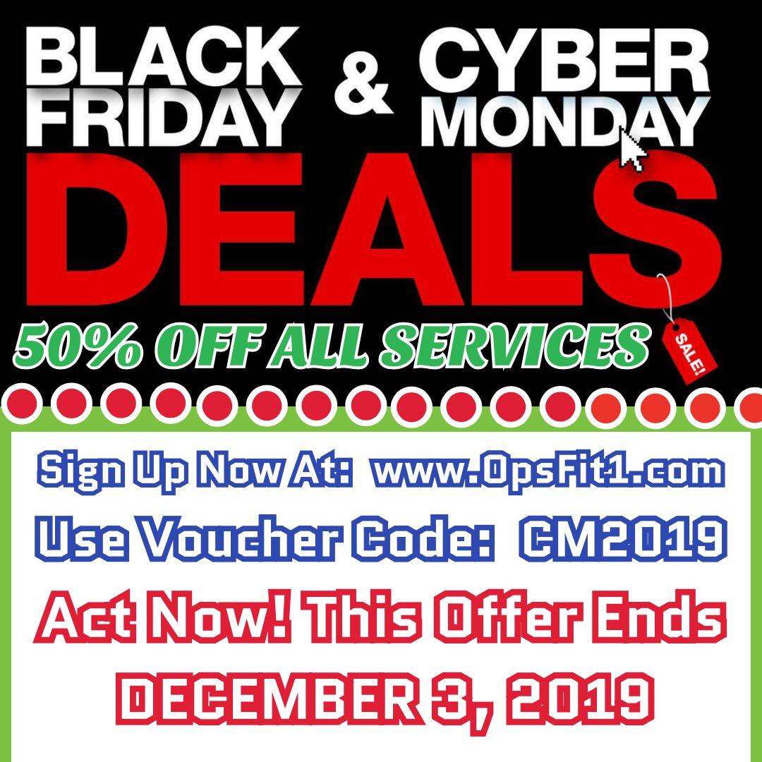 50% OFF! Act Now!! #opsfit1