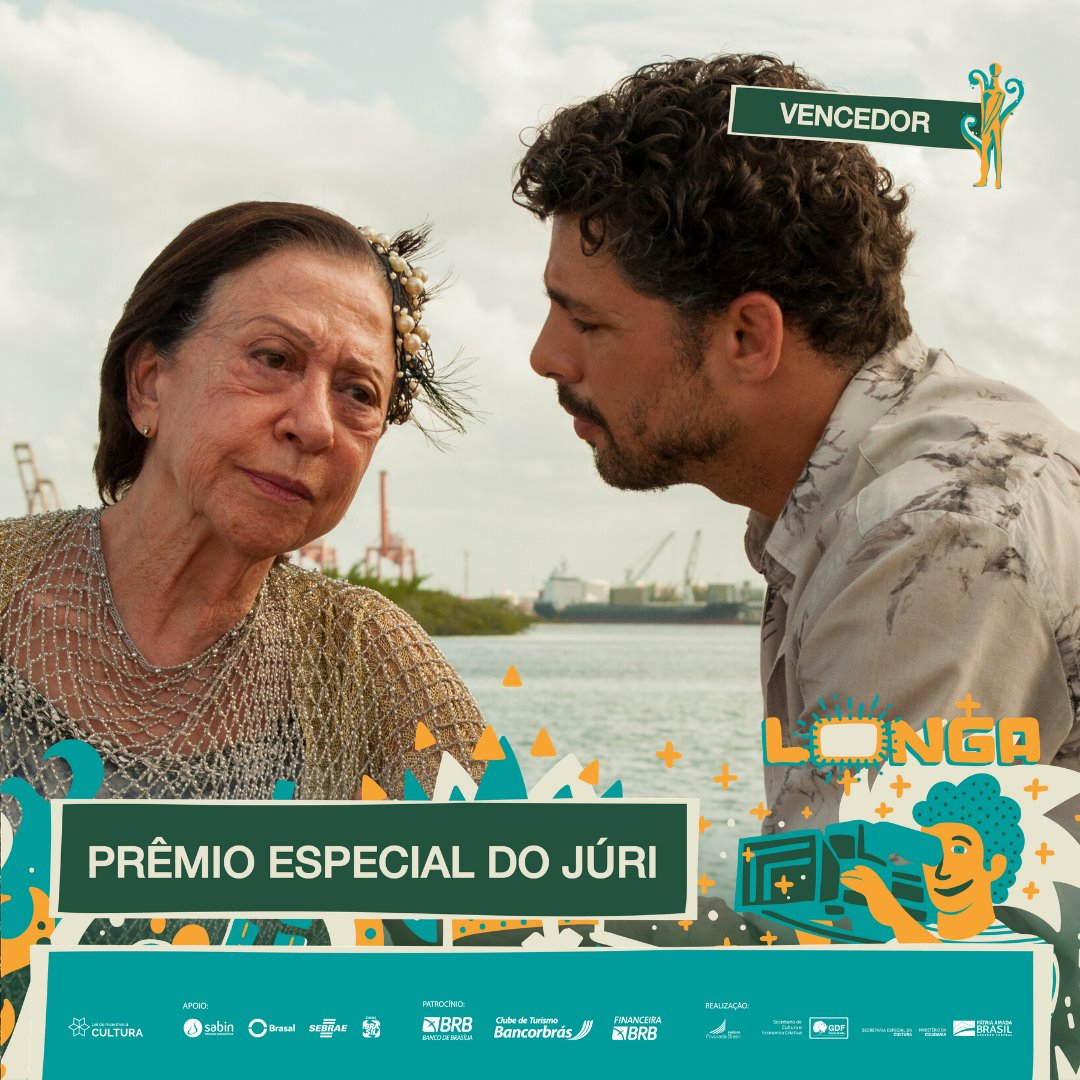 #PremiaçãoFBCB | MOSTRA COMPETITIVA  O PRÊMIO ESPECIAL do júri vai para Claudio Assis, por sua imensa importância para o desenvolvimento e a expansão da linguagem cinematográfica.   #FestivalDeCinema #Brasília #52FBCB #FBCB #Brasil #Cinema #Arte #BRB