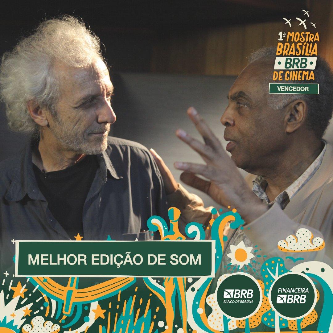 #PremiaçãoFBCB | MOSTRA BRASÍLIA BRB DE CINEMA  O prêmio de MELHOR EDIÇÃO DE SOM, escolhido por Júri Oficial na categoria de Longa-Metragem da Mostra Brasília BRB, é: MITO E MÚSICA  #FestivalDeCinema #Brasília #52FBCB #FBCB #Brasil #Cinema #Arte #BRB