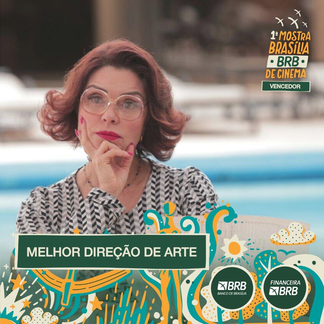 #PremiaçãoFBCB | MOSTRA BRASÍLIA BRB DE CINEMA  Escolhido por Júri Oficial, o prêmio de MELHOR DIREÇÃO DE ARTE na categoria de Longa-Metragem da Mostra Brasília BRB é: DULCINA  #FestivalDeCinema #Brasília #52FBCB #FBCB #Brasil #Cinema #Arte #BRB