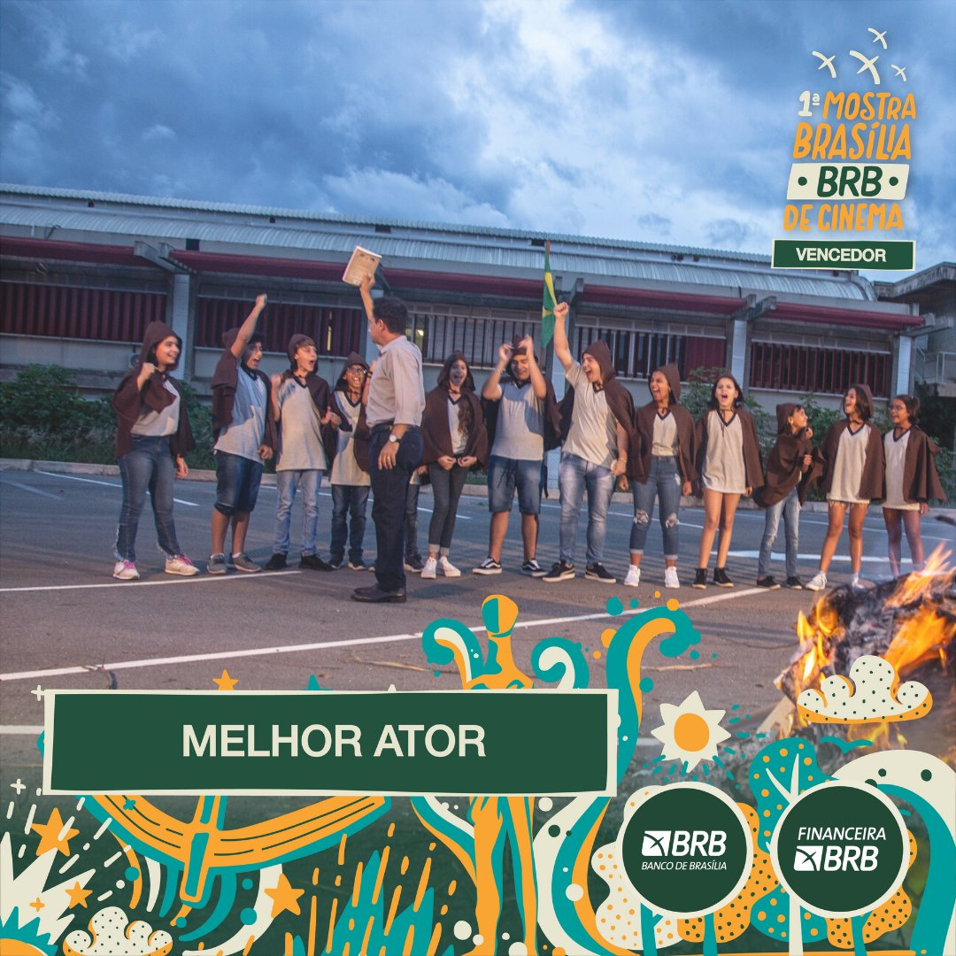 #PremiaçãoFBCB | MOSTRA BRASÍLIA BRB DE CINEMA  O prêmio de MELHOR ATOR da Mostra Brasília BRB vai para: WELLINGTON ABREU - ESCOLA SEM SENTIDO  #FestivalDeCinema #Brasília #52FBCB #FBCB #Brasil #Cinema #Arte #BRB